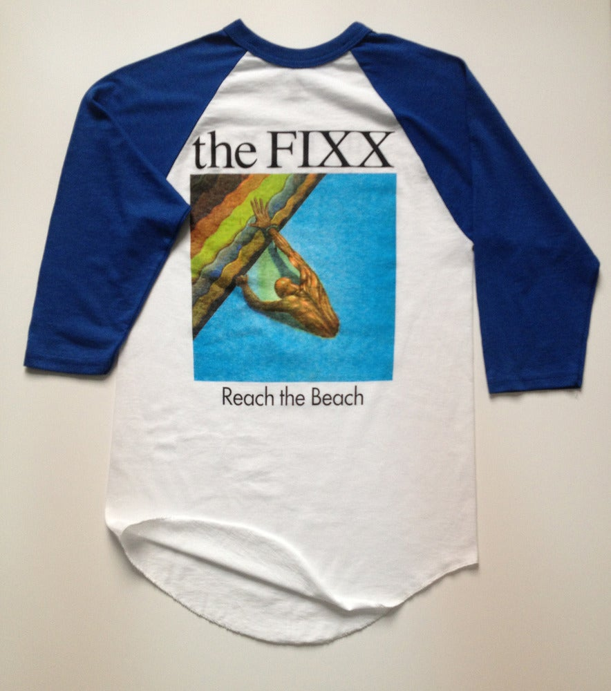 "Image of The Fixx - ""Reach The Beach"" Long-Sleeved Tee"