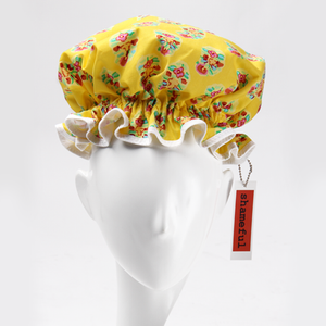 Image of Showercap lemon with multi-coloured detail - regular size