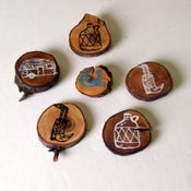 Image of Tree Cookie Magnets