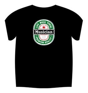 Image of Heineken Style T-Shirt (Black)