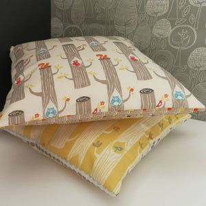 Image of Woodland Treetop Cushions