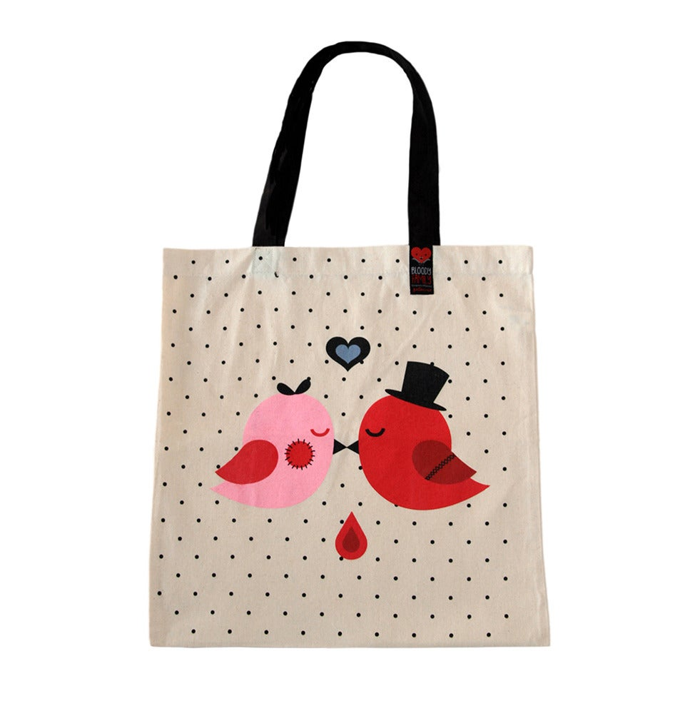Image of Love Birds / TOTE BAG