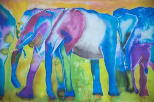 Image of Trail of  Elephants