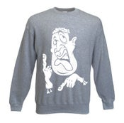 Image of Headache sweatshirt Grey