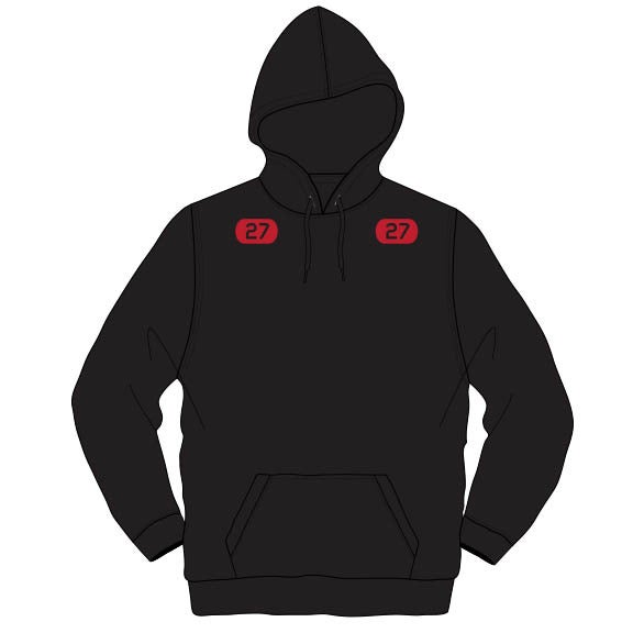 Image of Adult Kemp's Kids 27 Hoodie (Black)
