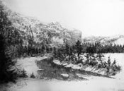 """Image of """"The Palisades"""", Cody Road to Yellowstone"""
