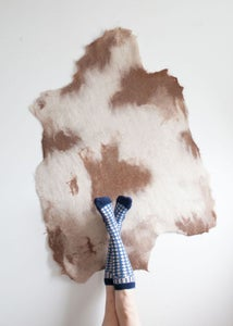 Image of 27. Felted Alpaca Rug // STATE