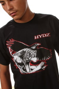 Image of Wolf/Raven / Shirt - Black