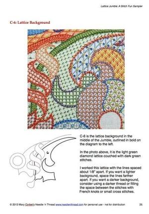 Image of Lattice Jumble Sampler Guide