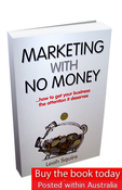 Image of Marketing with No Money - Printed Edition (posted within Australia)