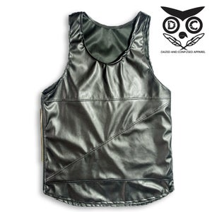Image of Leather Tank Top