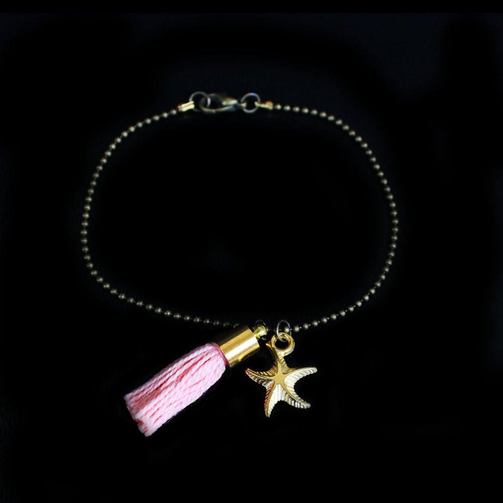 Image of Bracelet Pompon Rose