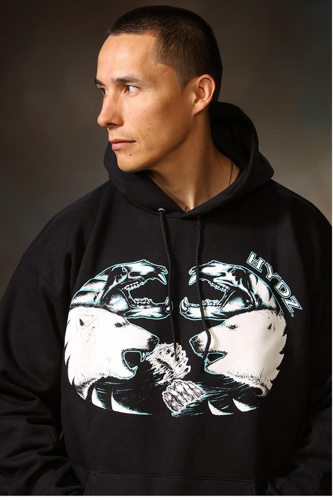 Image of Polar Bear / Hoodie - Black