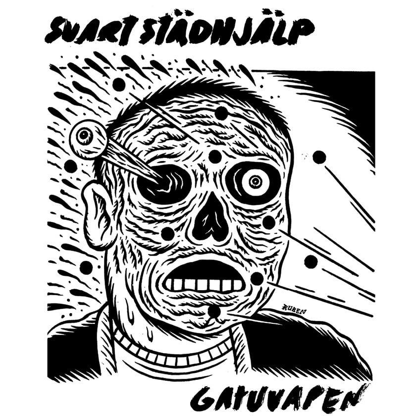 """Image of Svart Städhjälp - Gatuvapen 7"""""""