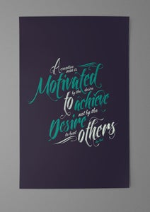 Image of Motivate (11x17)