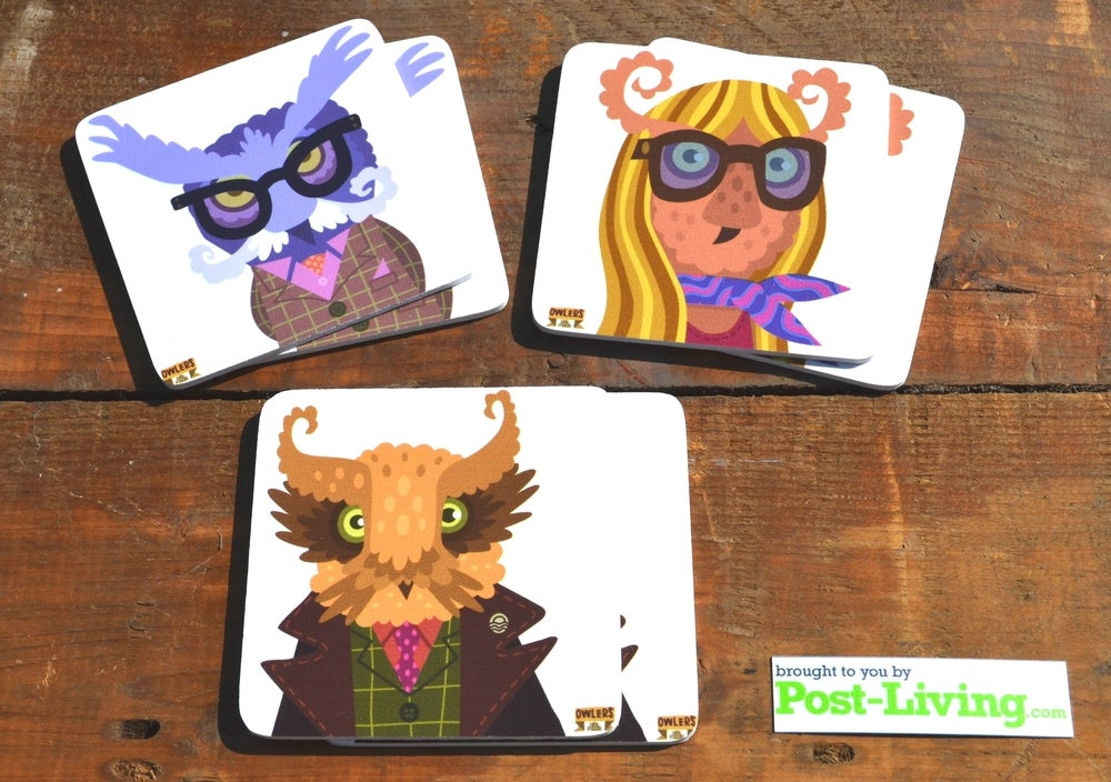 Image of POSTLIVING V PETE FOWLER COASTERS