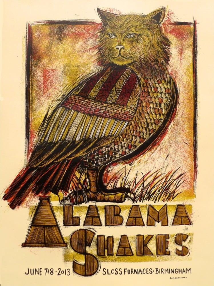 Image of Alabama Shakes Birmingham AL 2013