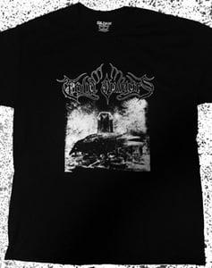 """Image of """"Cold Colours"""" album t-shirt"""