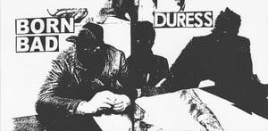 Image of DURESS / BORN BAD SPLIT