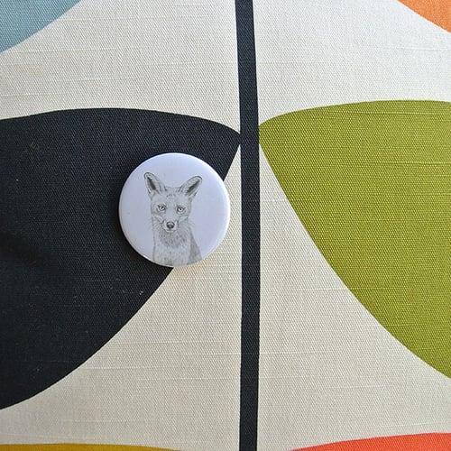 Image of Badge renard