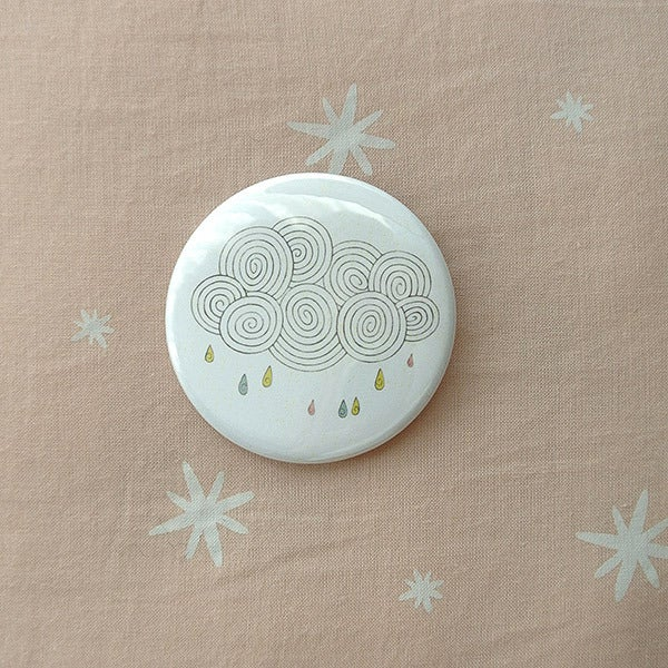 Image of Badge nuage pluie