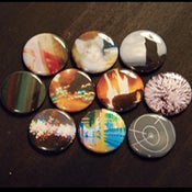 "Image of 1"" Button Set 3 - Photography"