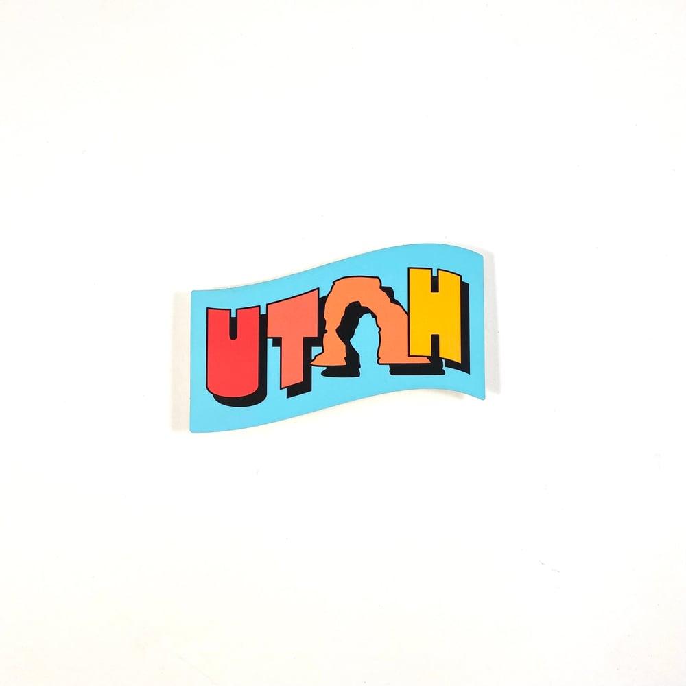 Image of Utah Sticker