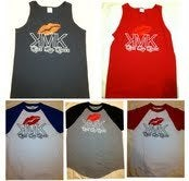 Image of Mens Tanks and Baseball shirts