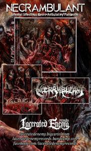 Image of NECRAMBULANT - Infernal Infectious Necro-Ambulatory Pandemic CD
