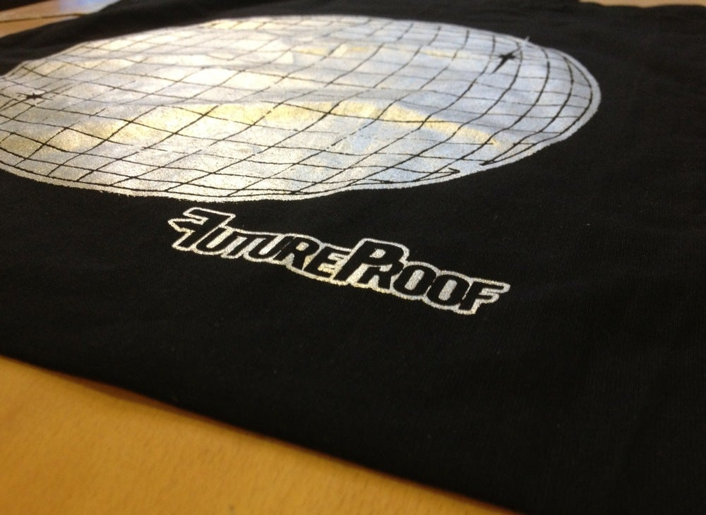Image of FutureProof 'Hit Me With The Lights' Tote Bag FIRE SALE £2