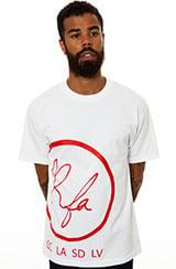 Image of RFA Logo (White&Red T-shirt)