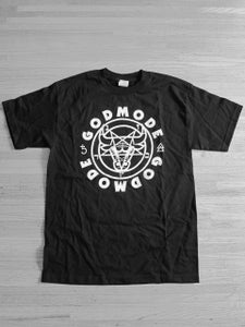 Image of GODMODE GVME666 - BLACK TEE