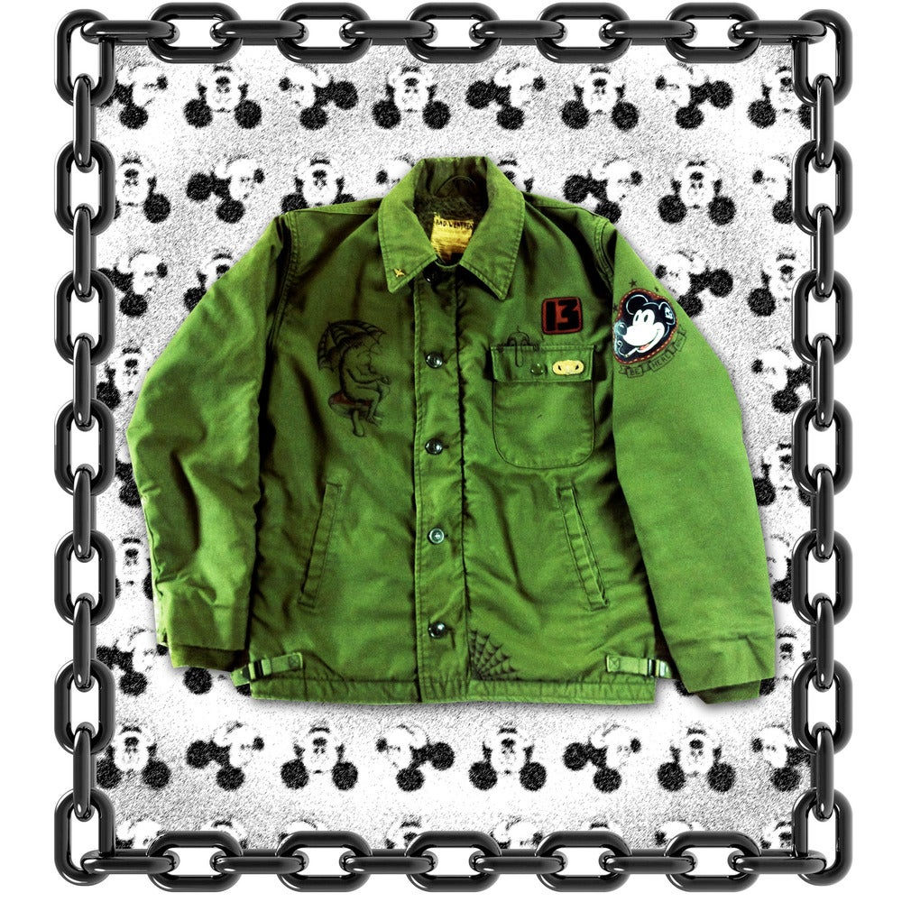 Image of BE HERE NOW Deck Jacket Medium (38-40)