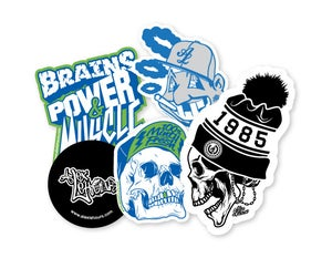 Image of Mixed Sticker Packs