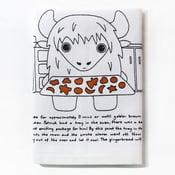 Image of Patrick the Yak's Sensational Swedish Gingerbread - Tea Towel