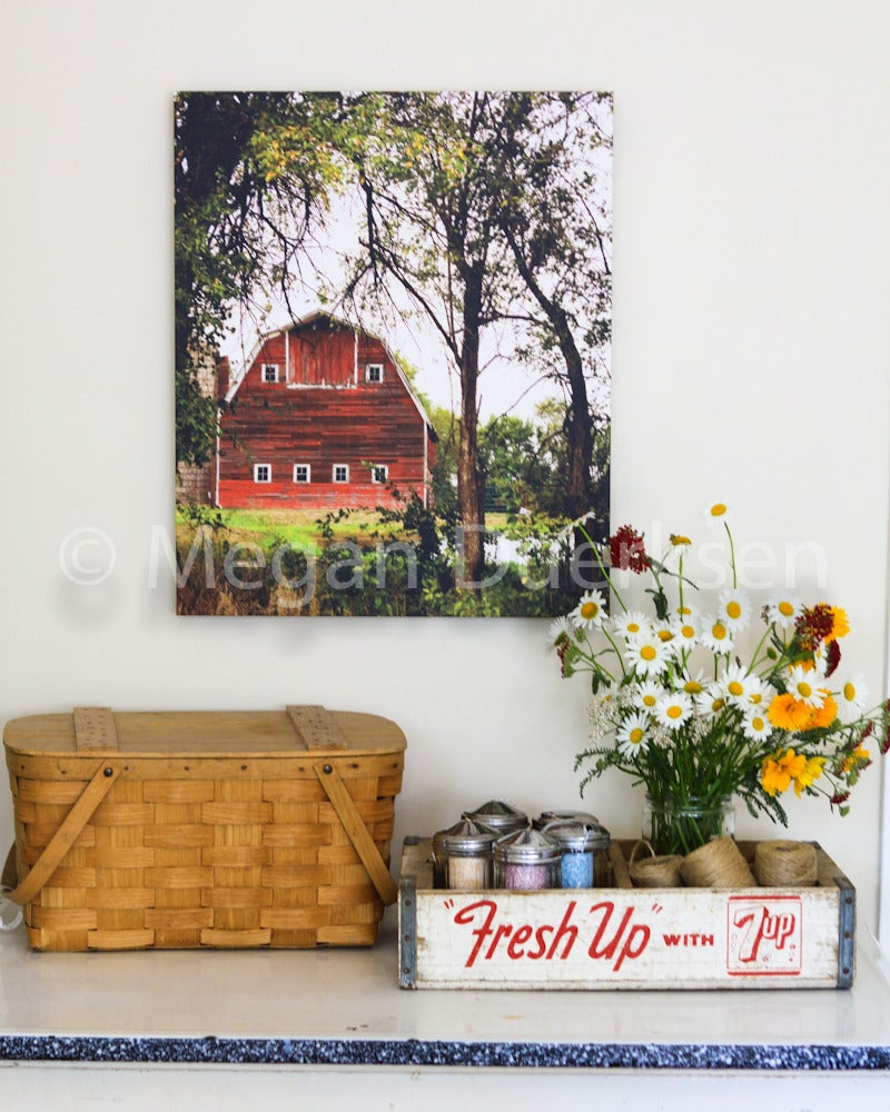 Image of Red Barn Canvas