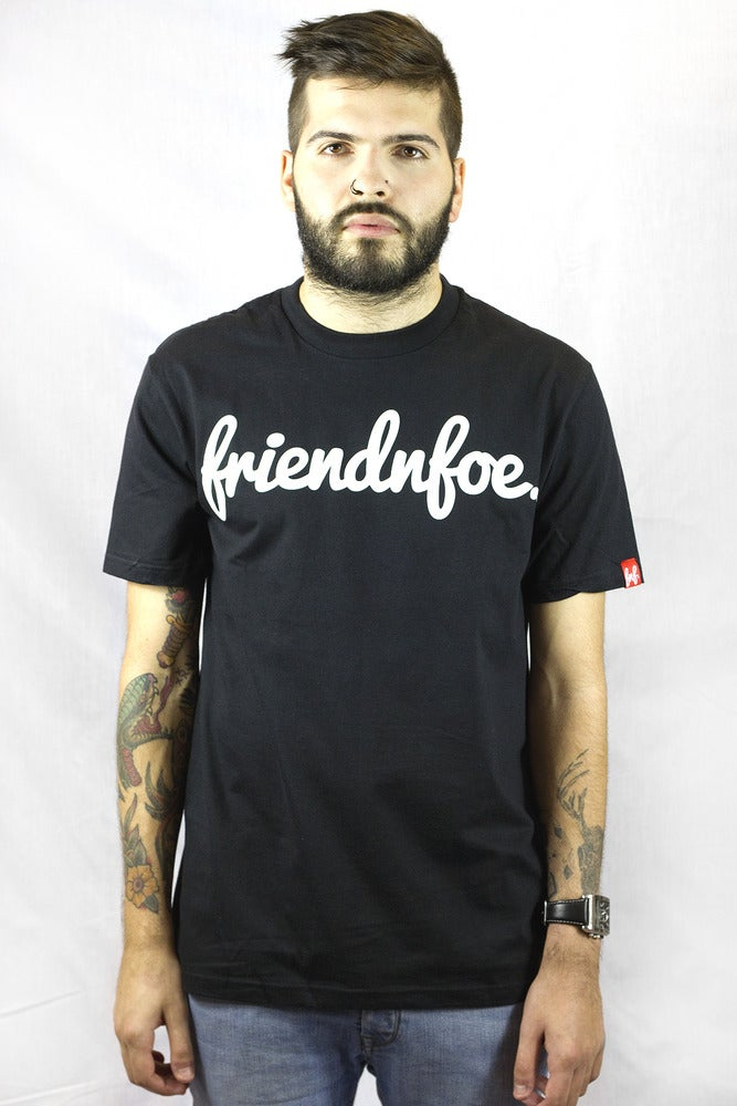 Image of The Black Logo Tee