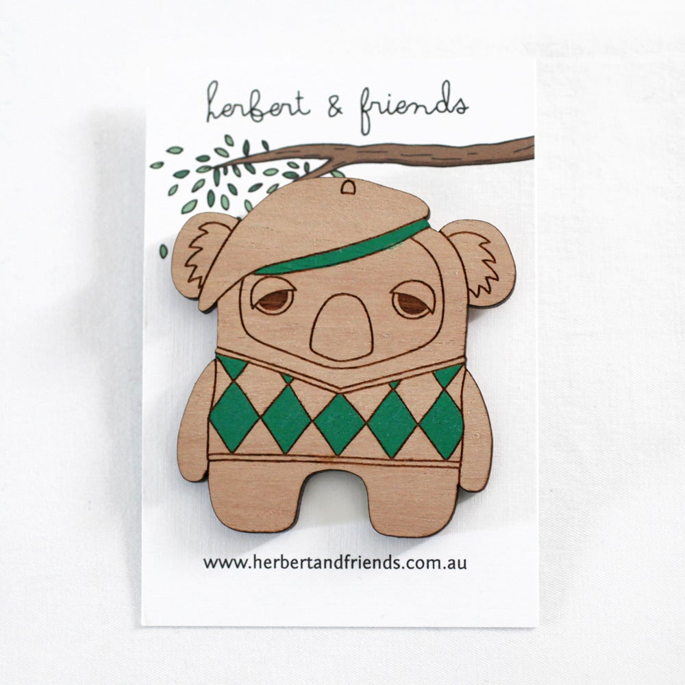 Image of Argyle Koala Brooch