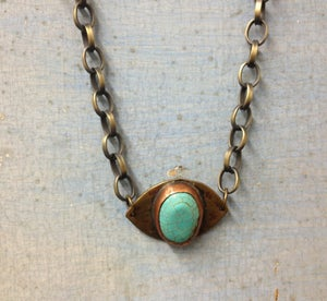 Image of Small Evil Eye Necklace