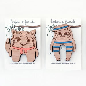 Image of Brooches - pack of 2