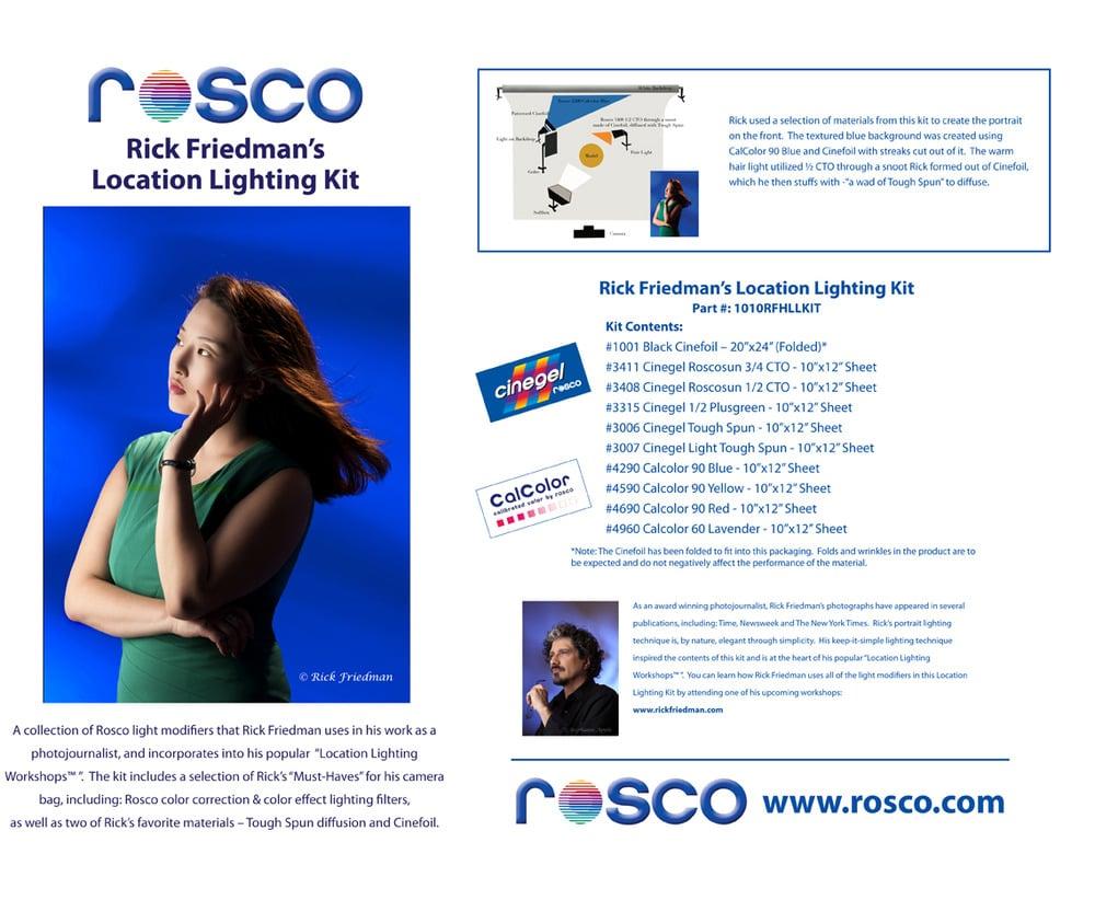 Image of Rick Friedman's Location Lighting Kit By Rosco
