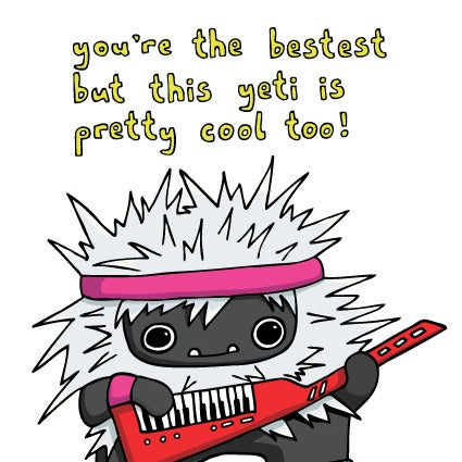 Image of You're the bestest - Card