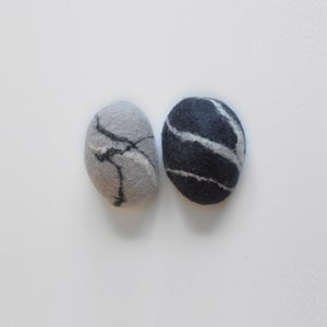 "Image of FELTED STONES | ""Inside Out"""