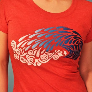Image of Crashing Wave Women's Tshirt