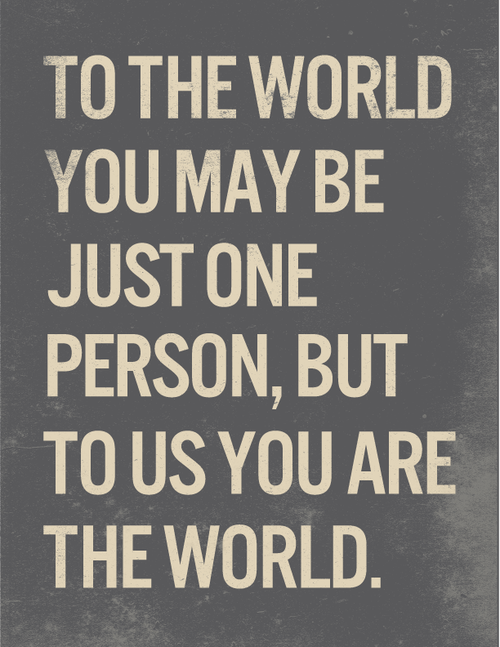 Image of You are the World