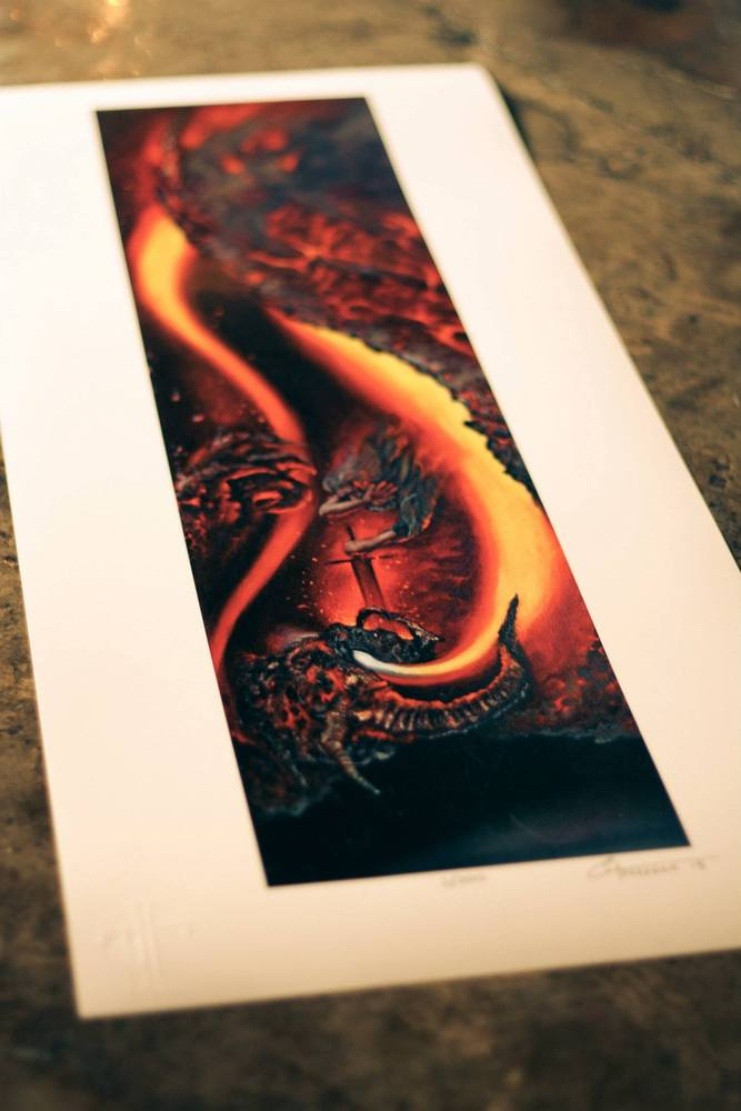 Image of Through Fire and Death (Print)