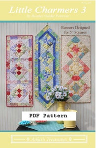 Image of PDF Little Charmers 3 Pattern