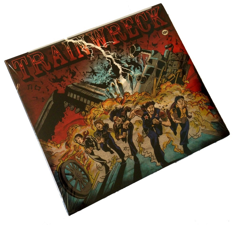 "Image of Trainwreck - CD -  ""The Wreckoning"""