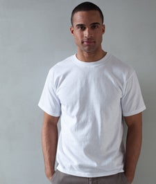 Image of Plain SHAKA Heavy Short Sleeve T-shirts - 6 pieces