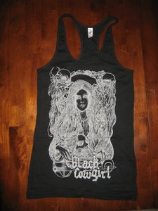 "Image of Black Cowgirl ""Salome"" shirt  (girls tank)"